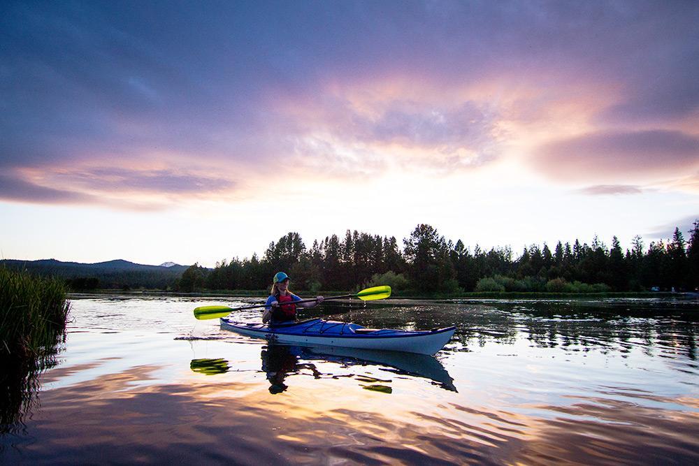 Eddyline Sitka ST Kayak - On The Water 1