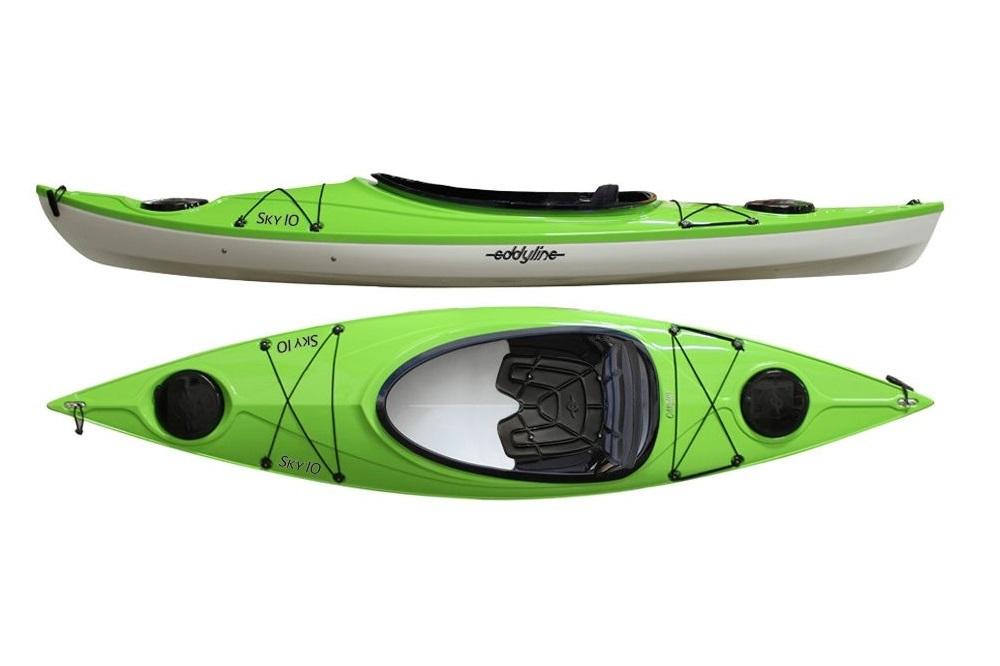 Eddyline Sky 10 Kayak - Lime / White