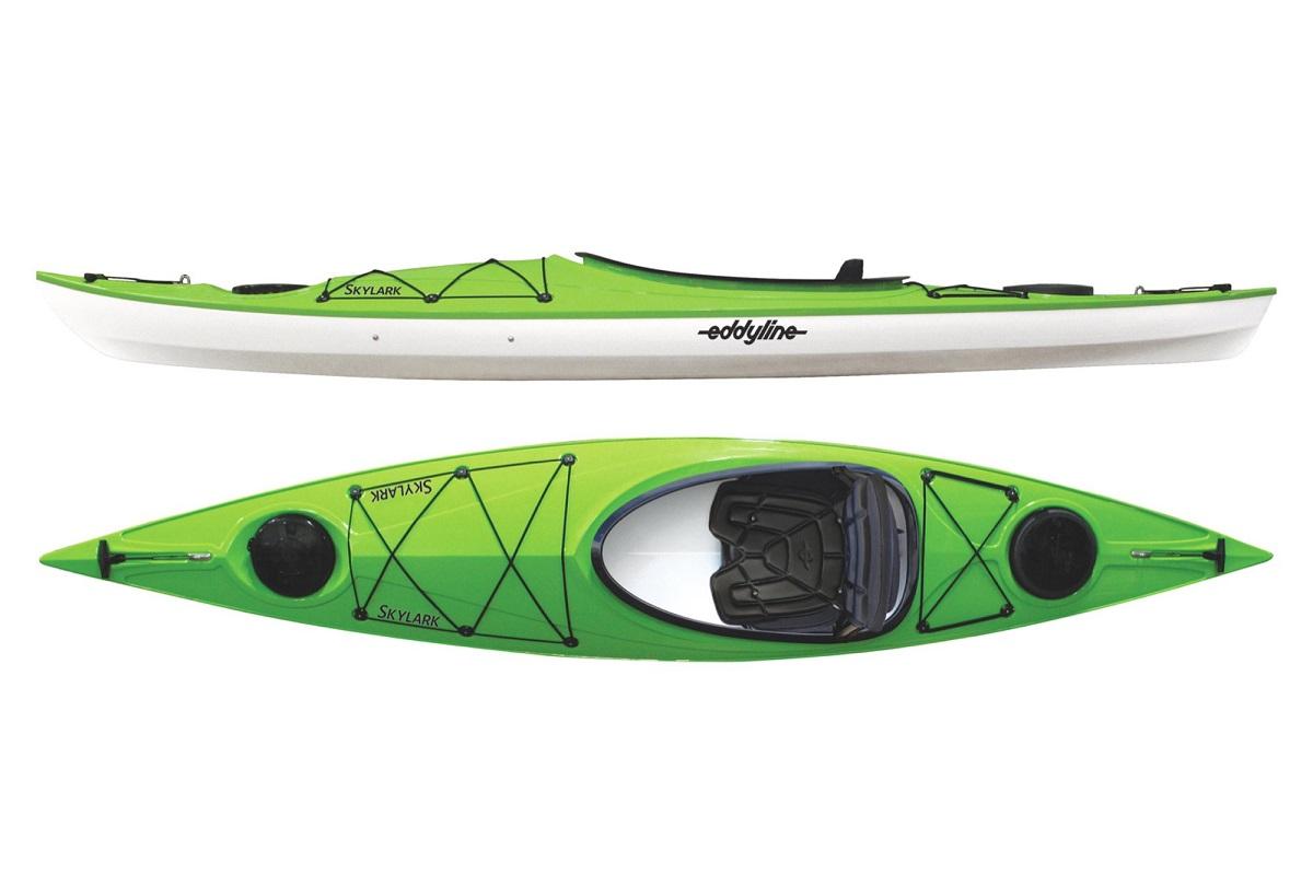Eddyline Skylark Kayak - Lime / White