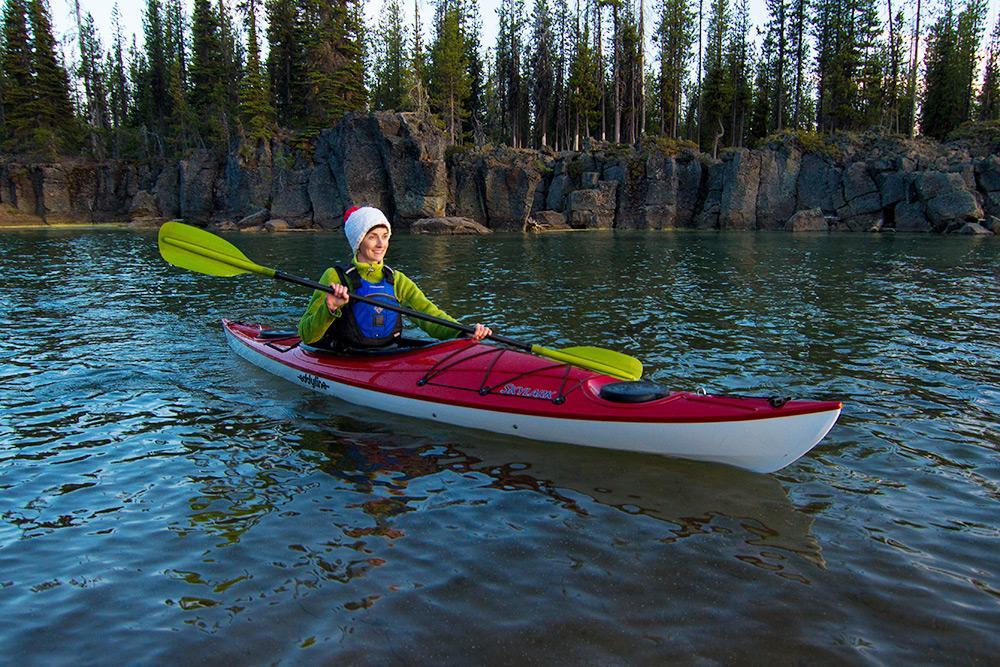 Eddyline Skylark Kayak - On the Water 1