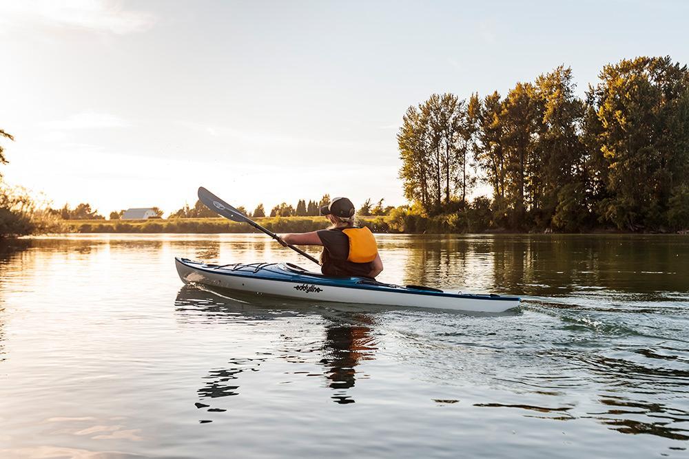 Eddyline Skylark Kayak - On the Water 3