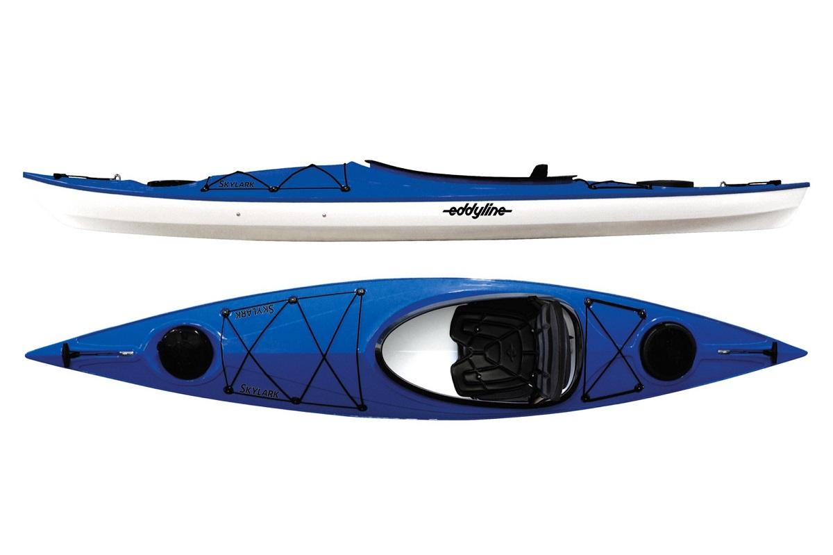 Eddyline Skylark Kayak - Sapphire Blue / White
