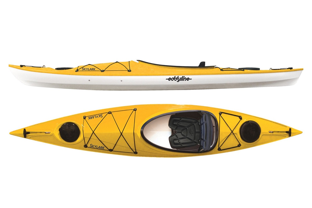 Eddyline Skylark Kayak - Yellow / White