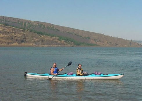 Eddyline Whisper CL Tandem Kayak - Blue Demo