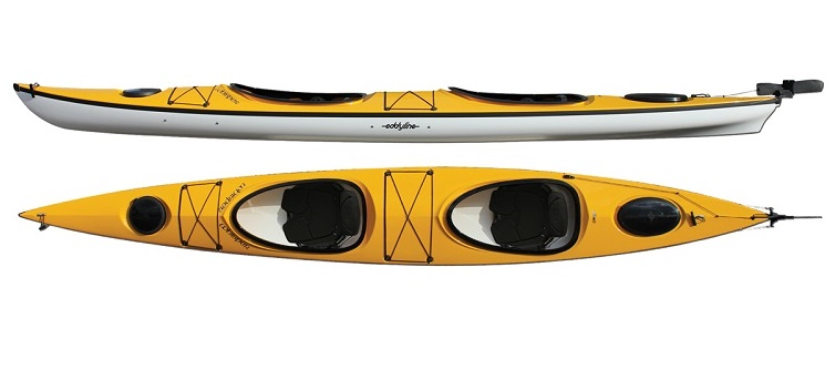 Eddyline Whisper CL Tandem Kayak - Yellow