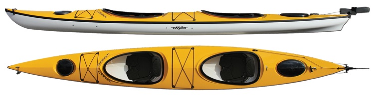 Eddyline Whisper CL Tandem Sea Kayak