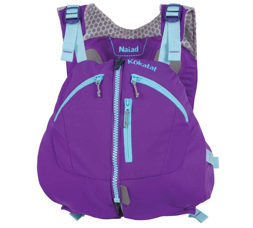 Kokatat Naiad PFD - Purple/Front View