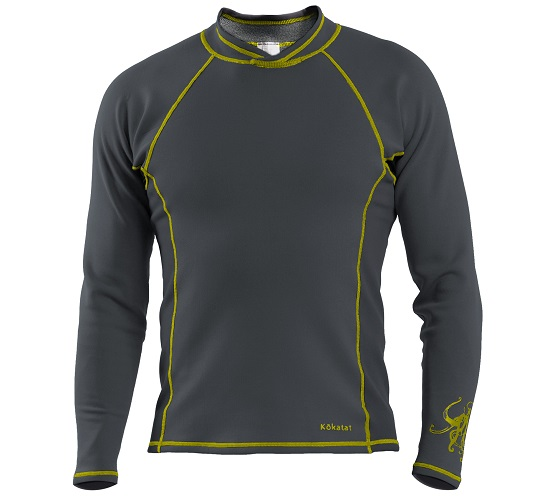 Kokatat NeoCore Long Sleeve Shirt - Men's/Graphite/Front View