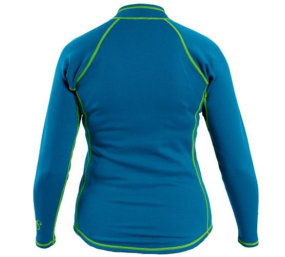 Kokatat NeoCore Long Sleeve Shirt - Women's/Electric Blue/Back View