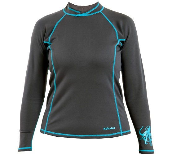 Kokatat NeoCore Long Sleeve Shirt - Women's/Graphite/Front