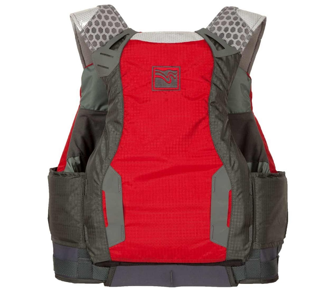 Kokatat Neptune PFD - Red/Back View