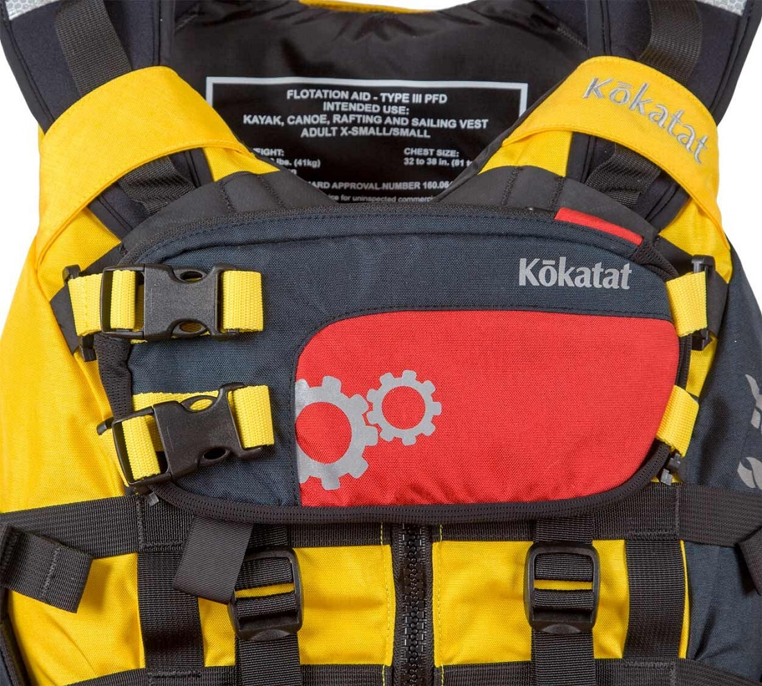 Kokatat Poseidon Modular PFD - Yellow/Front