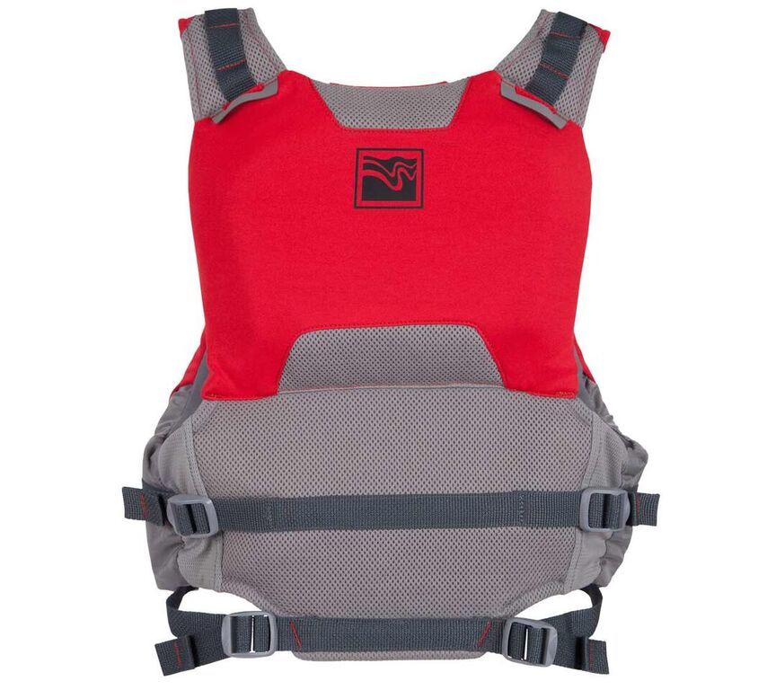 Kokatat Proteus PFD - Red/Back View