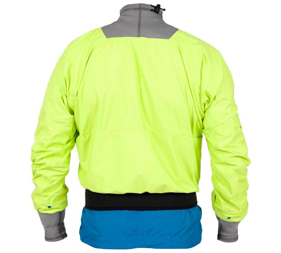 Kokatat Session Semi Dry Jacket - Mantis/Back View