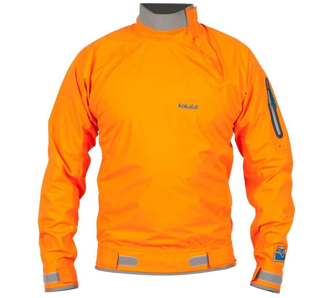 Kokatat Stance Jacket - Orange / Front View