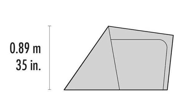 MSR Gear Shed - Elevation