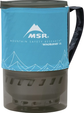 MSR WindBurner Duo Accessory Pot - Packed