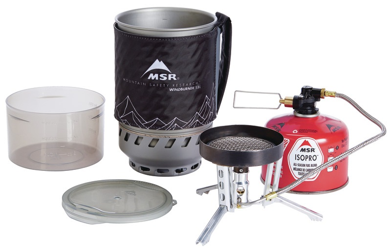 MSR WindBurner Duo Stove System - Components