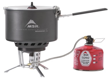 MSR WindBurner Group Stove - Assembled