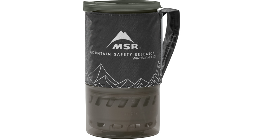 MSR WindBurner Personal Stove System - Packed