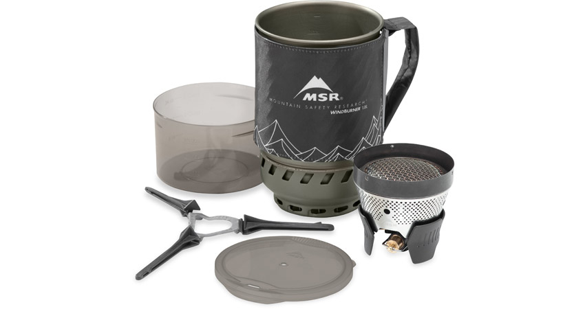 MSR WindBurner 1.8L Coffee Press Kit Color Grey