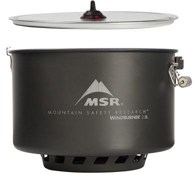 MSR WindBurner Sauce Pot - Side View 2