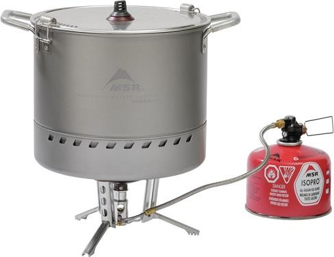 MSR WindBurner Stock Pot - In Use