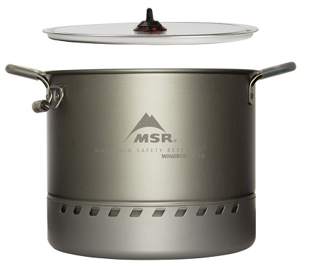 MSR WindBurner Stock Pot - Side View 2