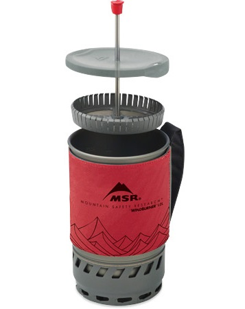 MSR WindBurner Stove Coffee Press Kit
