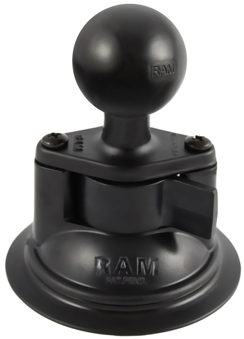 "RAM Suction Cup Base w/1.5"" Ball Mount"
