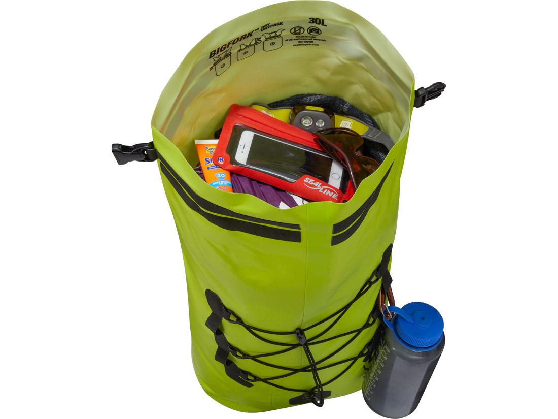 SealLine Bigfork Dry Daypack - Lime/Open