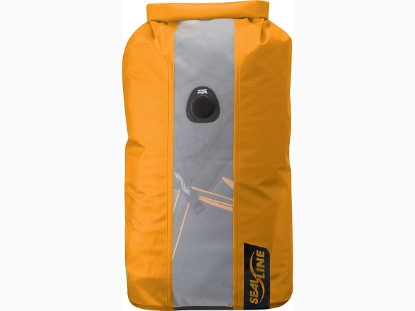SealLine Bulkhead View Dry Bag - 10L Orange