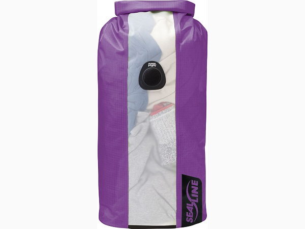 SealLine Bulkhead View Dry Bag - 20L Purple