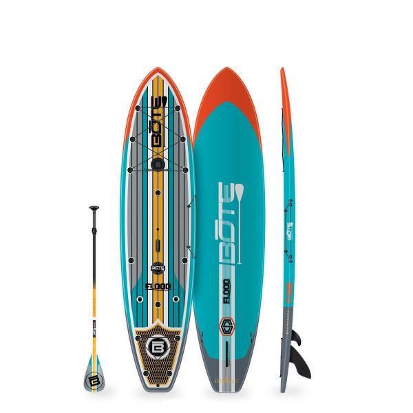"BOTE Flood 10'6"" Paddle Board - Full Trax Aqua"