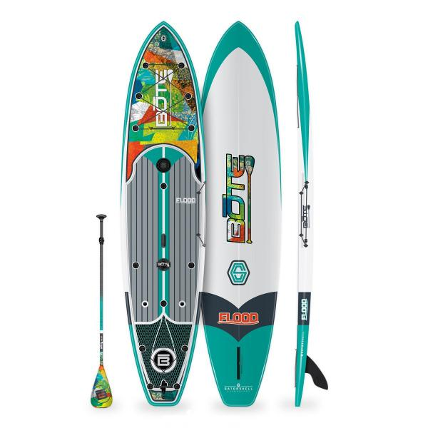 BOTE Flood 12' Paddle Board - Native Patchwork