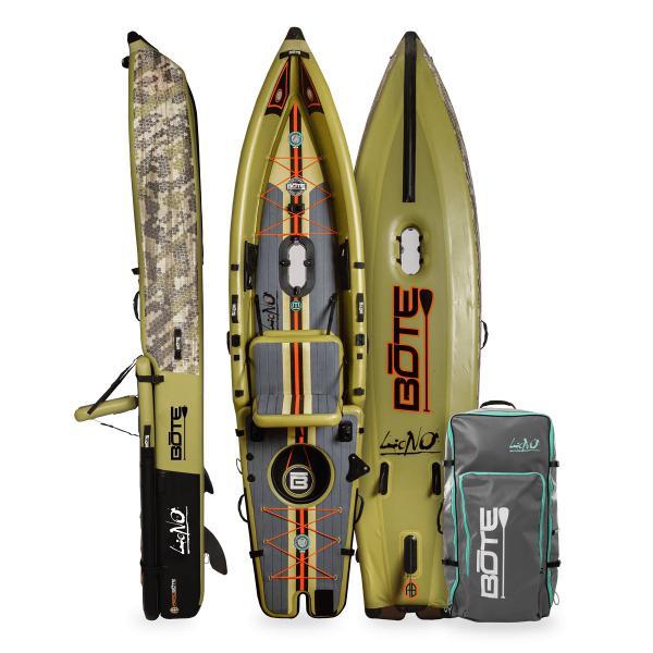 BOTE Lono Inflatable Kayak - Verge Camo
