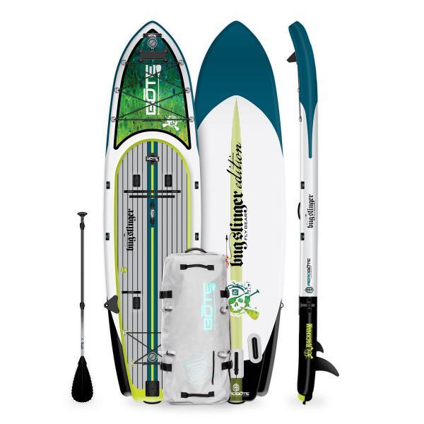 BOTE Rackham Aero Paddle Board - Bug Slinger Dorado Product
