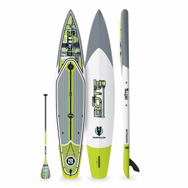 """BOTE Traveller 12'6"""" Paddle Board - Native Shatter"""