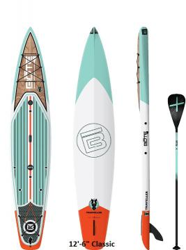 """Bote Traveller Paddleboard - 12'6"""" Classic"""