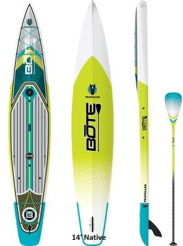Bote Traveller Paddleboard - 14' Native