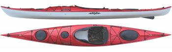 Eddyline Sitka LT Touring Kayak - Red