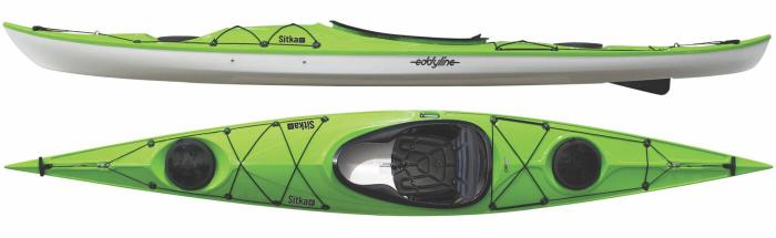 Eddyline Sitka ST Touring Kayak - Lime