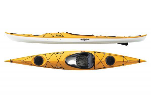 Eddyline Sitka LT Kayak - Yellow / White