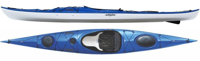 Eddyline Sitka XT Touring Kayak - Sapphire Blue