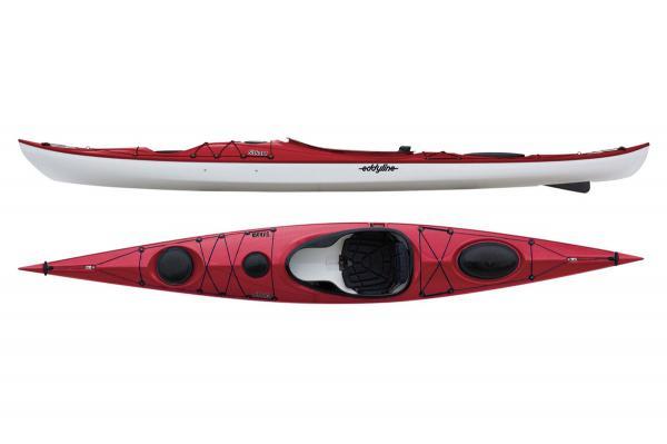 Eddyline Sitka XT Kayak - Red Pearl / White