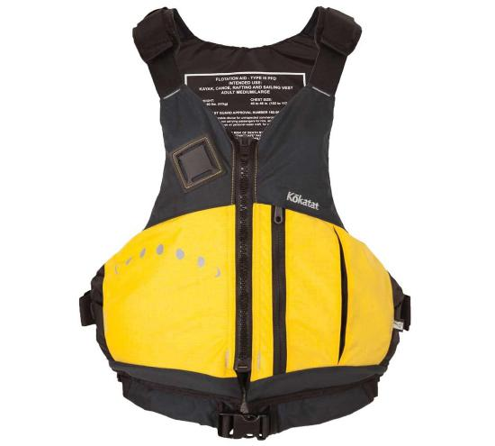 Kokatat Aries PFD - Yellow/Front View