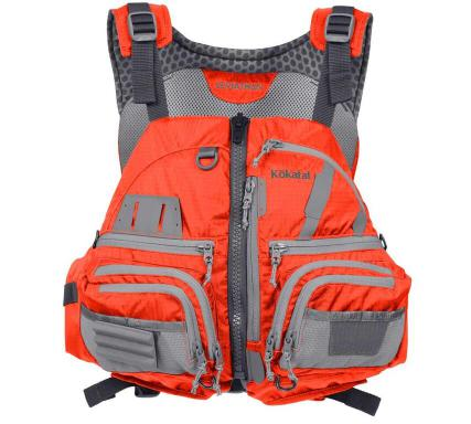Kokatat Leviathan PFD - Orange/Front View