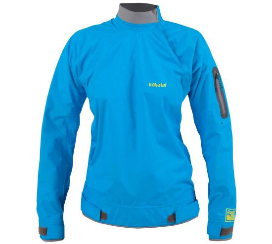 Kokatat Women's Stance Jacket - Electric Blue / Front View