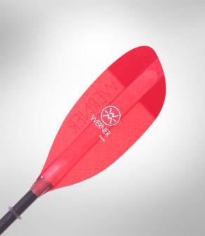 Werner Shuna Paddle - Red Blade
