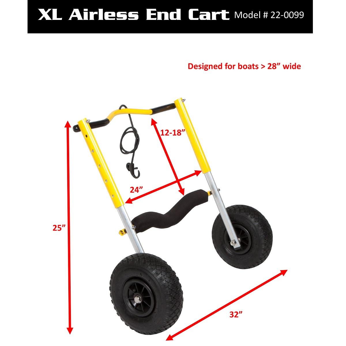 Suspenz END Cart - X-Large Dims